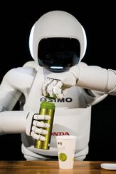 asimo le robot de honda qui fait tout comme les humains ou presque. Black Bedroom Furniture Sets. Home Design Ideas