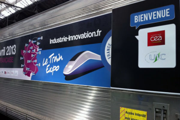 Semaine de l'industrie : le train de l'innovation se met au vert