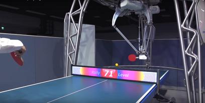 Vid o ce robot enseigne le tennis de table - Robot tennis de table occasion ...