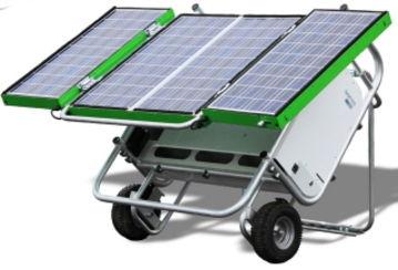 Groupes électrogènes solaires