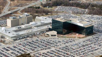 Vue du site de la NSA