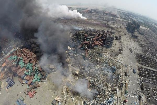 Explosions à Tianjin : place à la crainte d'une pollution toxique