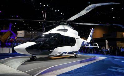 Voici l'hélicoptère du futur : plus sobre, doté du stop-and-start et d'écrans tactiles !