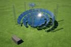 L'architecture novatrice de centrale solaire à concentration de MOSAIC s'apprête à produire ses premiers électrons