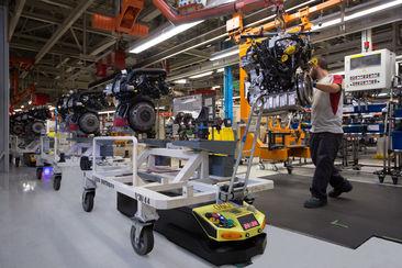 [Vidéo] Métro, boulot...robot : la routine des 125 robots mobiles de l'usine Seat