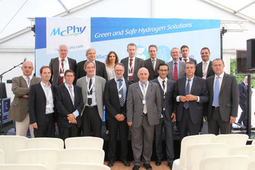 Mc Phy industrialise la production et le stockage d'hydrogène décarboné