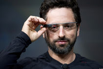 Les #selfie de la techno : version Google Glass par Sergey Brin