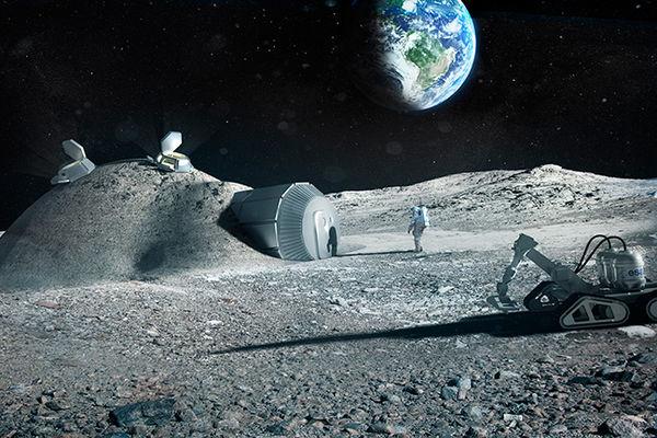 L Esa Veut Imprimer Une Base En 3d Sur La Lune