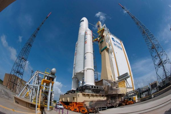 [PHOTO TECH] Lancement imminent pour Ariane 5 !