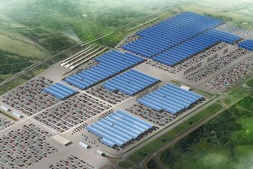 les usines de renault se tournent vers le solaire. Black Bedroom Furniture Sets. Home Design Ideas