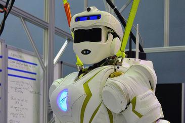 Le robot Valkyrie, qui doit jouer demain les éclaireurs sur la planète mars