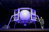 Blue Origin dévoile son alunisseur Blue Moon
