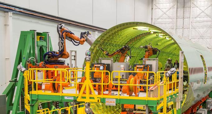 L'usine de fabrication des Boeing 777x sera robotisée