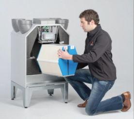 Echangeur de chaleur enthalpique pour vmc double flux for Vmc double flux zehnder