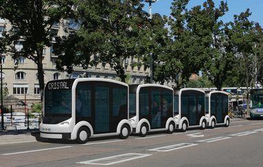 Lohr Industrie invente le véhicule qui se transforme en bus ou en voiture - Industrie Technologies