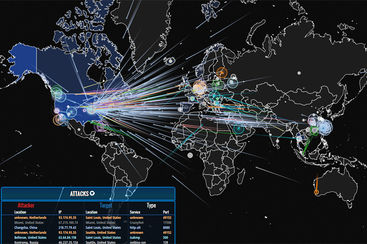Honeypot attacks visualization