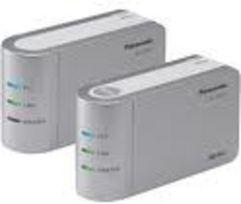 Adaptateurs HD-PLC de Panasonic. Leur technologie Wavelet OFDM est à la base du standard IEEE 1901
