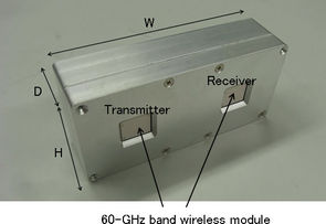 Transmetteur 60 GHz de NTT