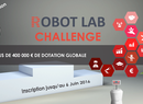 Robot Lab Challenge : 400 000 euros pour booster l'innovation