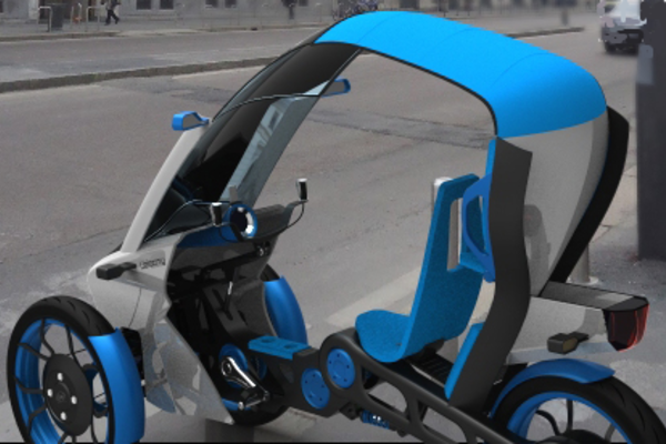 Un tricycle électrique conçu en Open Innovation