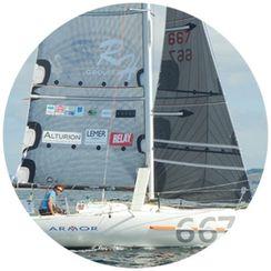 Le voilier prototype de Benoit Marie