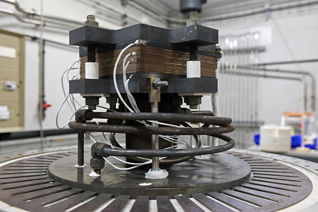 Stack d'électrolyse de la vapeur d'eau à haute température